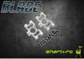 Blade 300 CFX - Mocowanie rury ogonowej