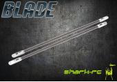 Blade 300 CFX / 300 X - Podpory rurki ogonowej duralowe