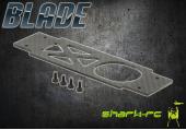 Blade 250 CFX / 300 CFX - Dolna płyta podwozia karbonowa