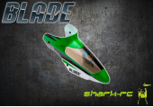 Blade 120 S - Kabina zielona plastikowa