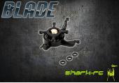 Blade 120 S - Tarcza sterująca czarna plastikowa