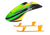OXY 4 - Kabina z włókna szklanego plus podwozie plastikowe pomarańczowe styl 8