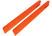 Blade 300 CFX - Łopaty główne 246 mm pomarańczowe RKH