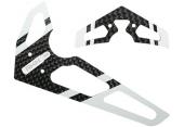 Blade 300 CFX - Stateczniki pionowy i poziomy karbonowo - białe RKH